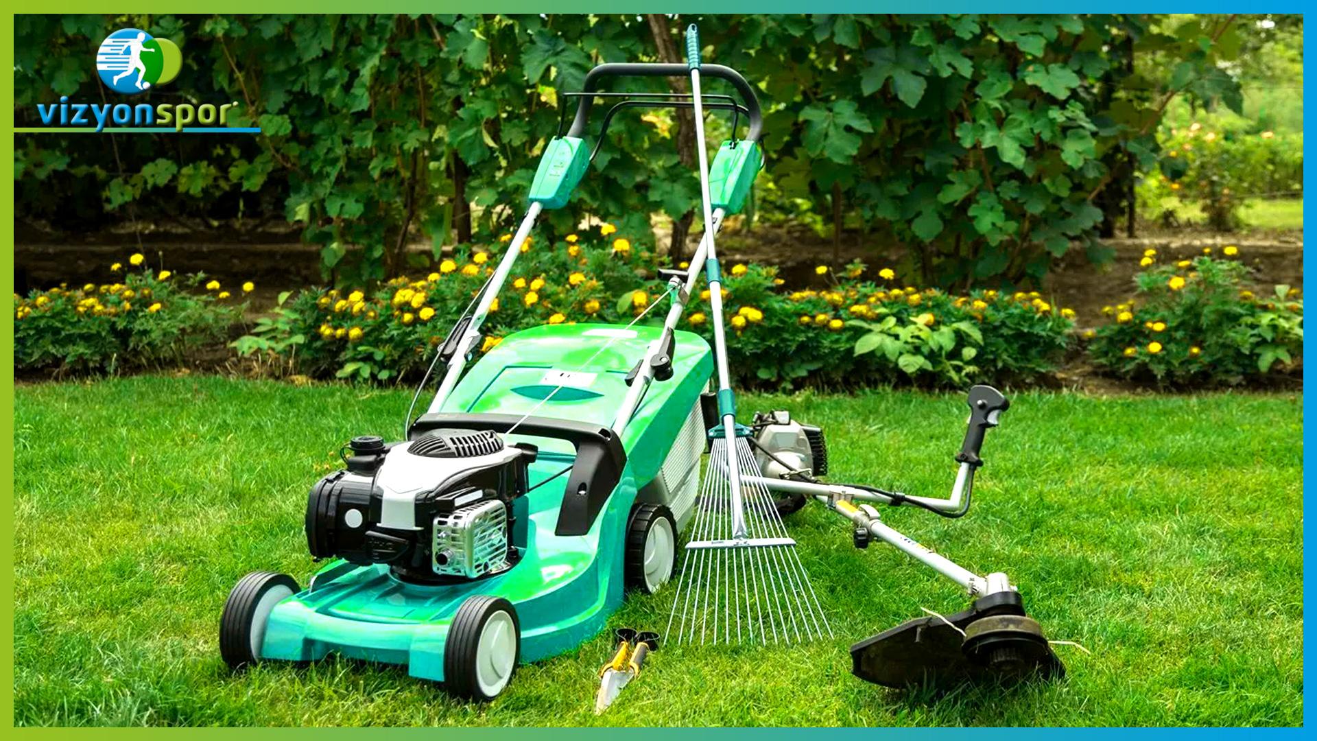 doğal çim bakımı, doğal çim bakım makineleri, doğal çim bakım makinaları, çim bakımı, çim kesme makinası, çim kesme makinesi,