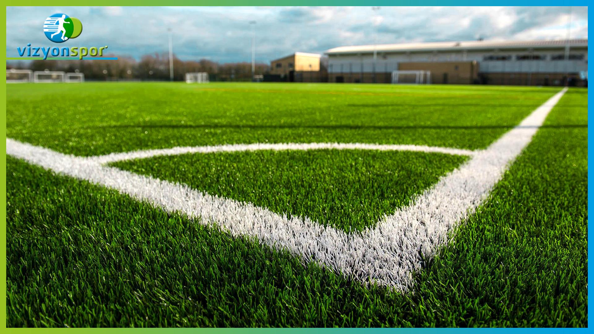 doğal çim futbol sahası, doğal çim saha, doğal çim köşe kısmı,
